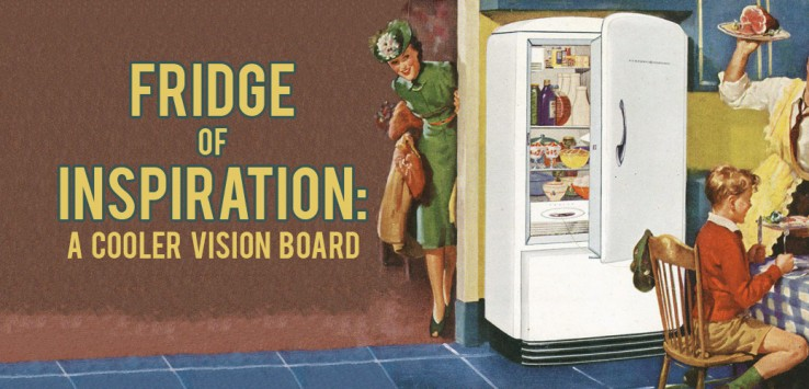 Surviving Europe: Fridge Vision Board A Cooler Vision Board - Feature