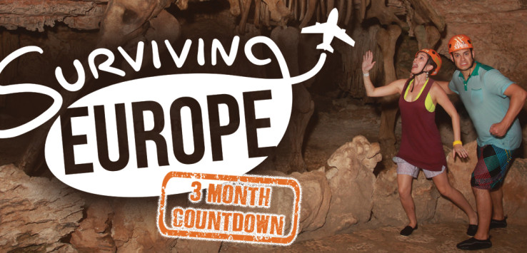 Surviving Europe: Instagram Countdown To Our Move Abroad