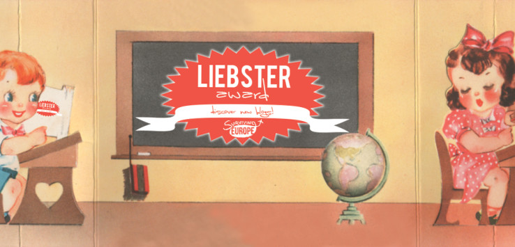 Surviving Europe: Surviving Europe Wins the Liebster Award!