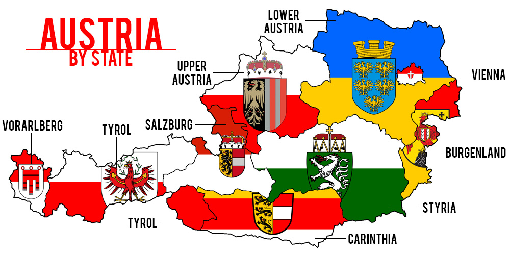Surviving Europe: Austria by State