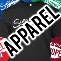 Surviving Europe: Support Us Apparel