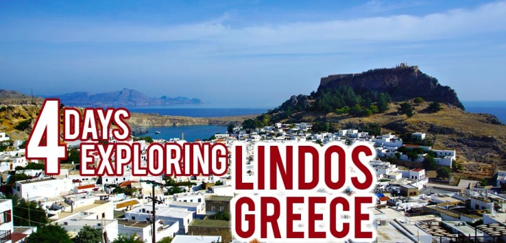 Surviving Europe: 4 Days Exploring Lindos Greece Feature