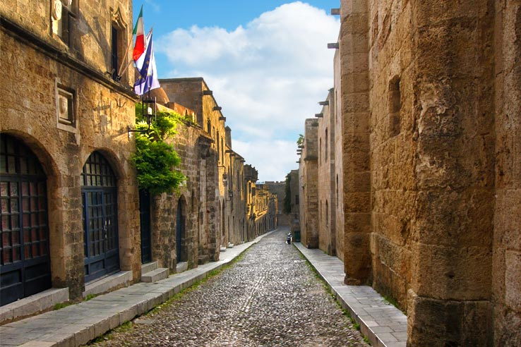 Surviving Greece: 4 Days in Old Town Rhodes Greece - 1