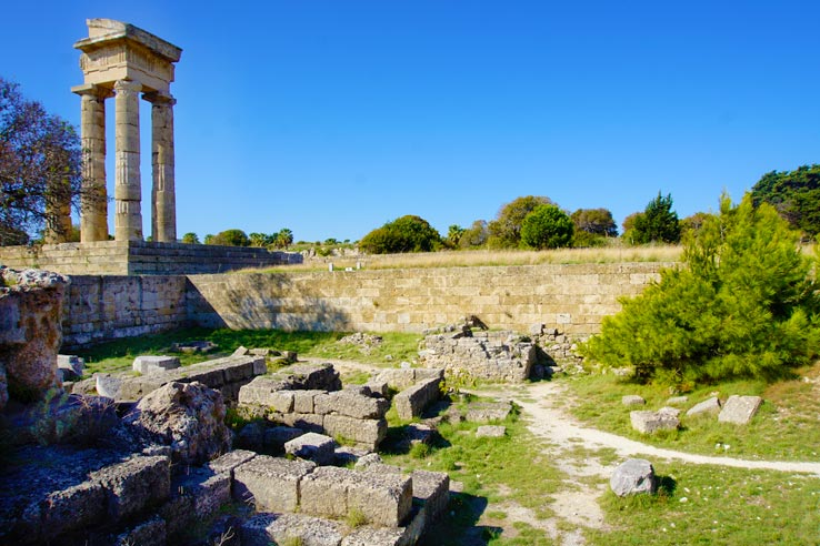 Surviving Greece: 4 Days in Old Town Rhodes Greece - 11