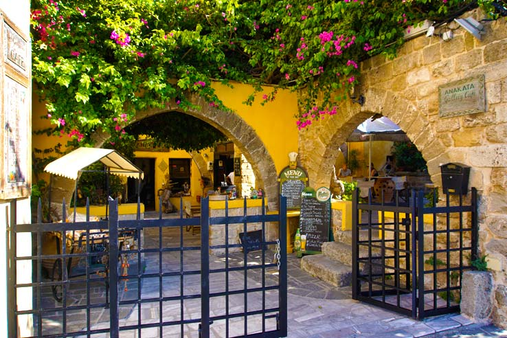 Surviving Greece: 4 Days in Old Town Rhodes Greece - 12