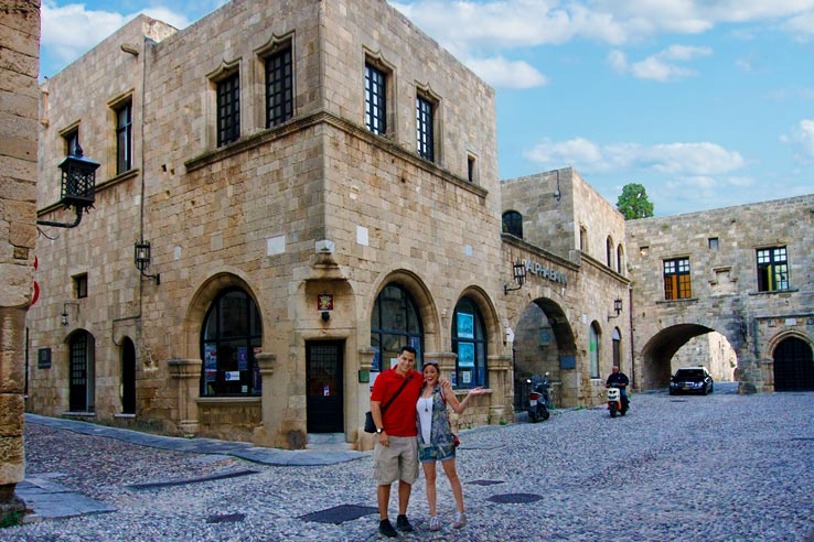 Surviving Greece: 4 Days in Old Town Rhodes Greece - 18