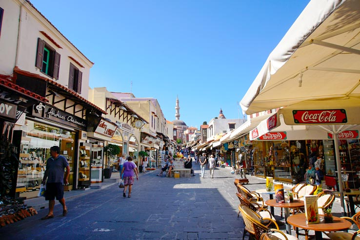 Surviving Greece: 4 Days in Old Town Rhodes Greece - 5