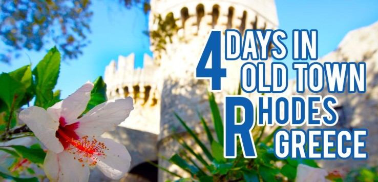 Surviving Europe: 4 Days in Old Town Rhodes Greece - Feature