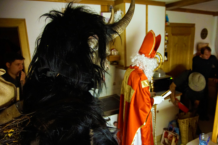 Surviving Europe: Christmas in Austria The Return of Krampus 3