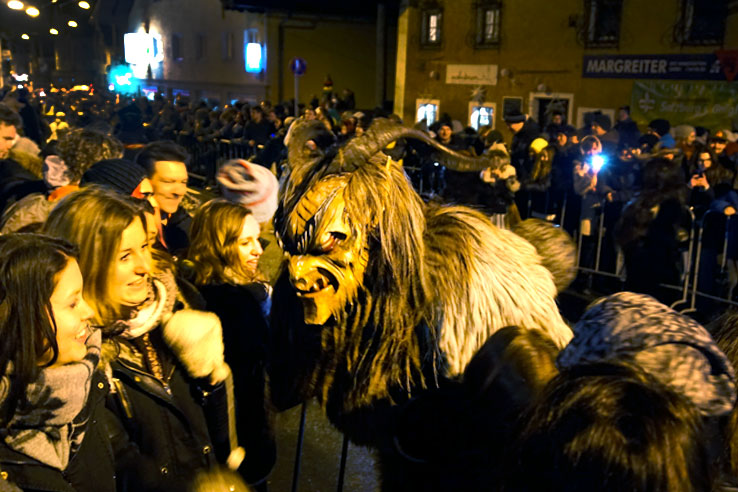 Surviving Europe: Christmas in Austria The Return of Krampus 8