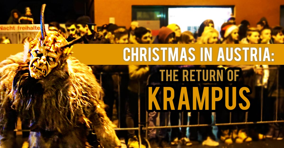 christmas in austria the return of krampus
