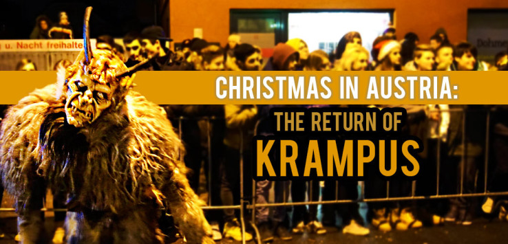 Christmas In Austria.Christmas In Austria The Return Of Krampus
