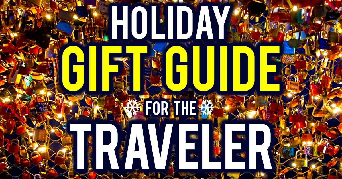 Holiday gift guide for the traveler surviving europe for Good gifts for a traveler