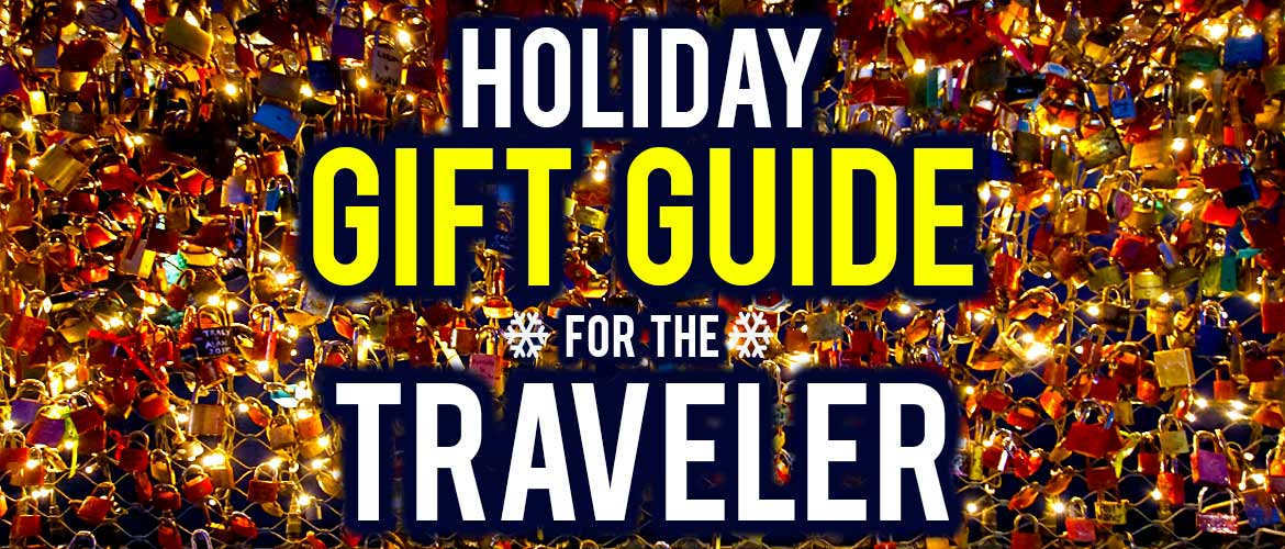 Holiday Gift Guide for the Traveler - Surviving Europe