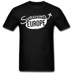 Surviving Europe: Surviving-Europe-Mens-Logo-Shirt