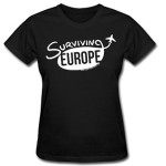 Surviving Europe: Surviving-Europe-Womens-Logo-Shirt