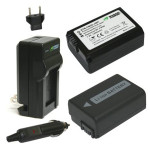 Surviving Europe: Wasabi-Power-Battery-(2-Pack)-and-Charger-for-Sony-NP-FW50