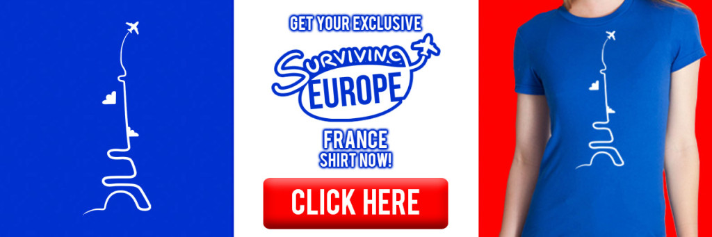 Surviving Europe: France T-Shirt