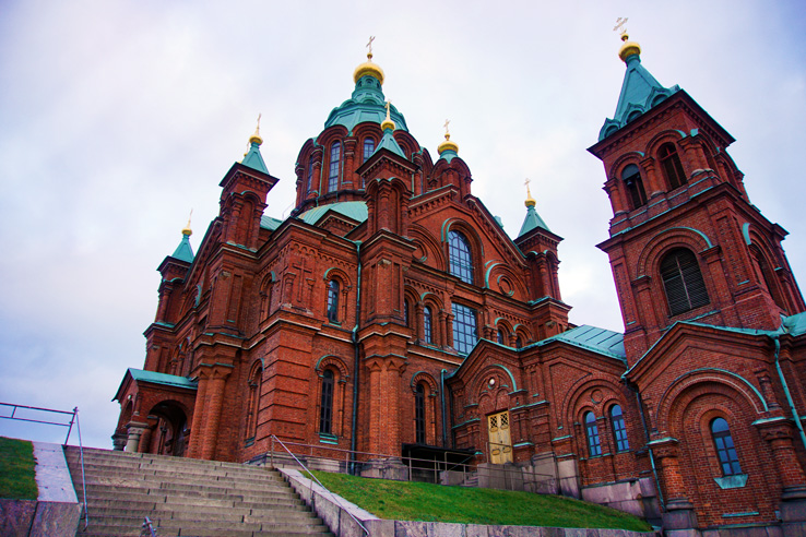 Surviving Europe: 5 Days Discovering the Best of Helsinki in the Winter - Uspenski Cathedral Helsinki