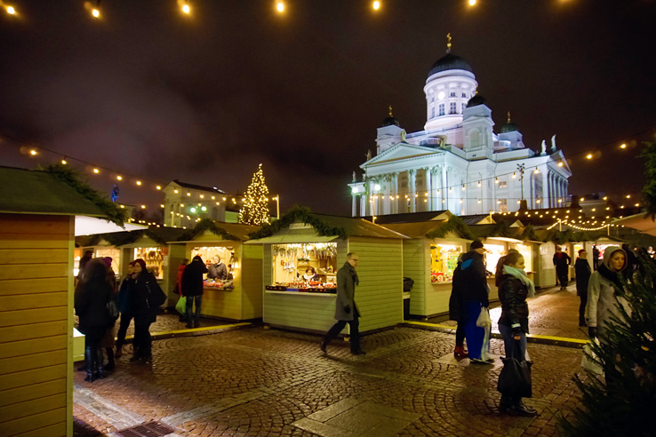 Surviving Europe: 5 Days Discovering the Best of Helsinki in the Winter - Helsinki Christmas Market