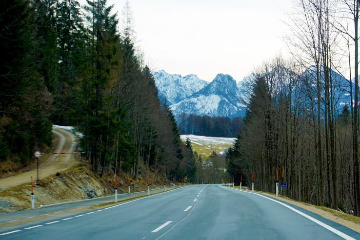 Surviving Europe: Adventures as an Expat Buying a Car Abroad - Austrian Road