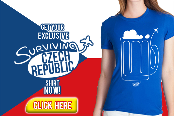 Surviving Europe: Czech Republic T-Shirt