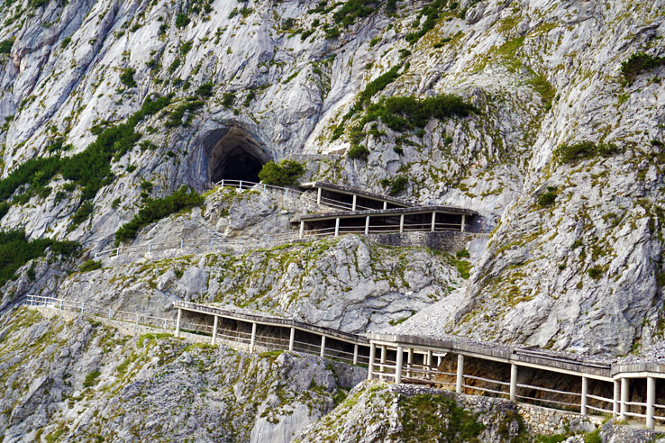 Surviving Europe: Surviving Eisriesenwelt The Largest Ice Cave in the World - 7 Entrance