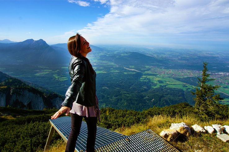 Surviving Europe: Looking Back on our First Year of Living Abroad - Erin on Untersberg 2