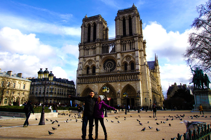 Surviving Europe: Looking Back on our First Year of Living Abroad - Us at Notre Dame