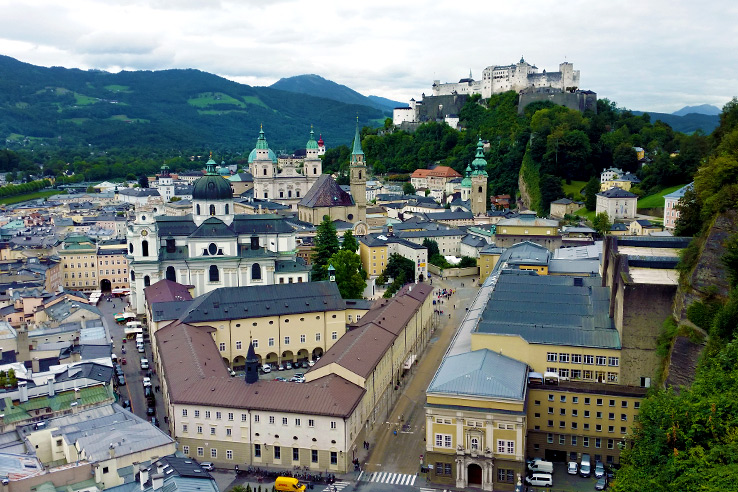 Surviving Europe: Looking Back on our First Year of Living Abroad - Salzburg City