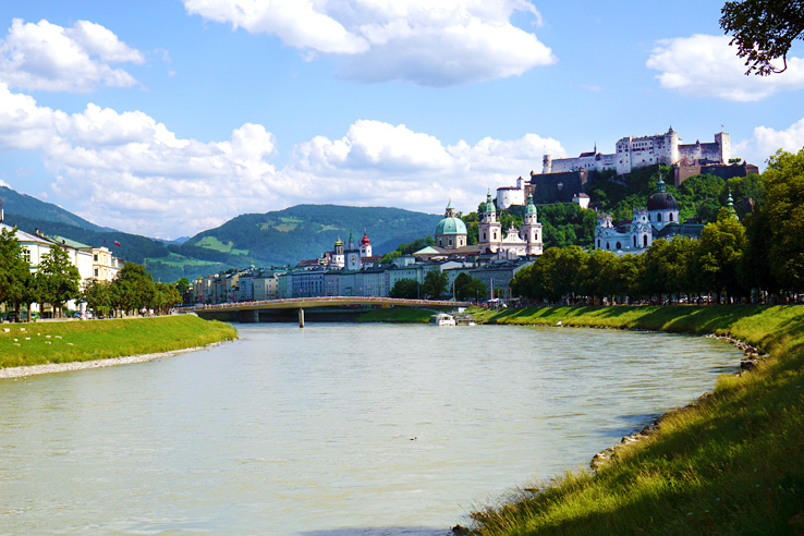 Surviving Europe: Looking Back on our First Year of Living Abroad - Salzburg River View