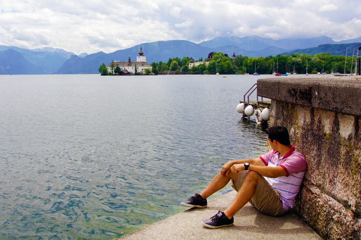 Surviving Europe: Looking Back on our First Year of Living Abroad - Erin at Traunsee