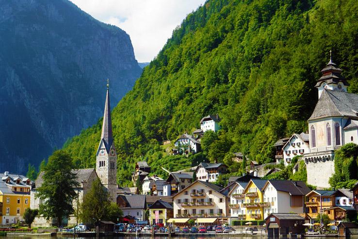 Surviving Europe: Salzburg Day Trips 10 Austrian Lakes Worth a Visit - Hallstatt Village