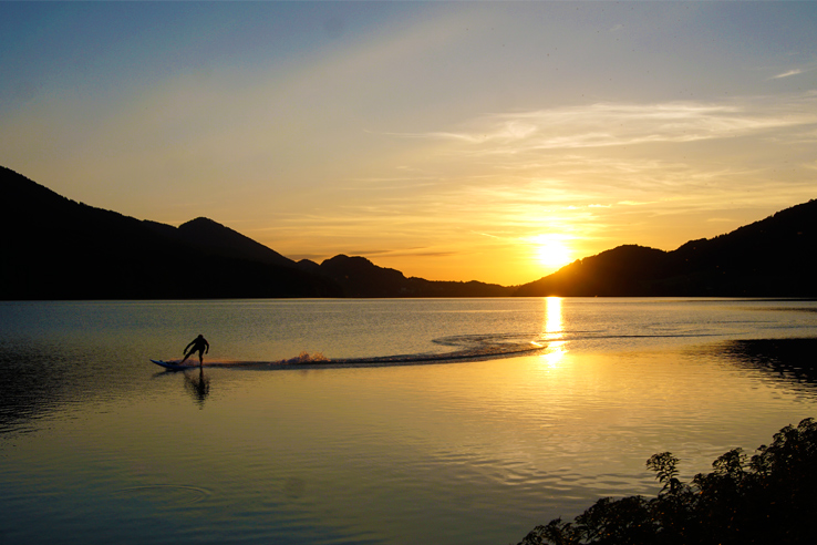 Surviving Europe: Salzburg Day Trips 10 Austrian Lakes Worth a Visit - Fuschlsee Sun Set