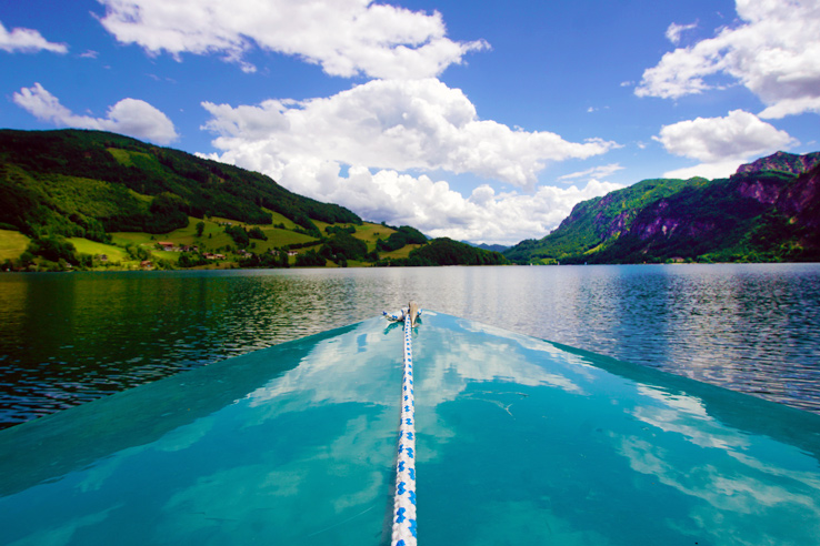Surviving Europe: Salzburg Day Trips 10 Austrian Lakes Worth a Visit - Mondsee Boating