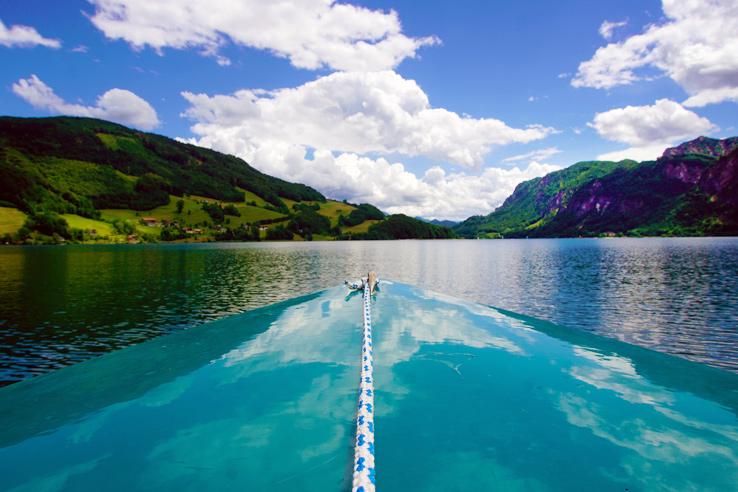 Surviving Europe: Salzburg Day Trips 10 Austrian Lakes Worth a Visit - Mondsee Boating