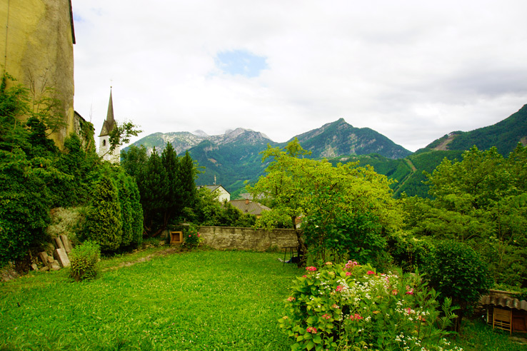 Surviving Europe: Salzburg Day Trips - Finding Paradise at Golling Waterfall - Golling Castle 3