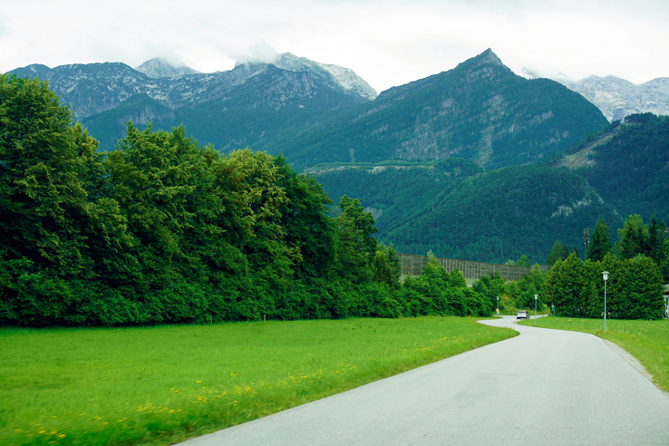 Surviving Europe: Salzburg Day Trips - Finding Paradise at Golling Waterfall - Golling Road