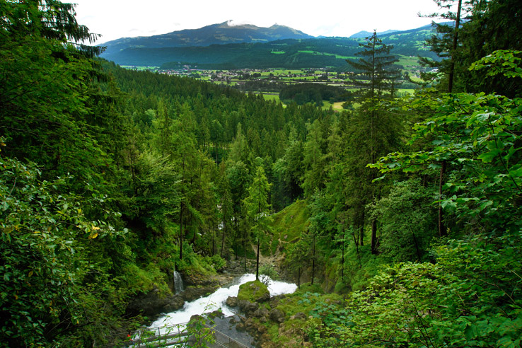 Surviving Europe: Salzburg Day Trips - Finding Paradise at Golling Waterfall - Austrian Landscape