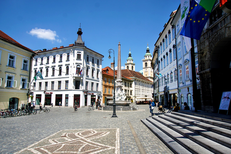 Surviving Europe: 48 Hours Discovering the Best of Ljubljana and Lake Bled - Old Town