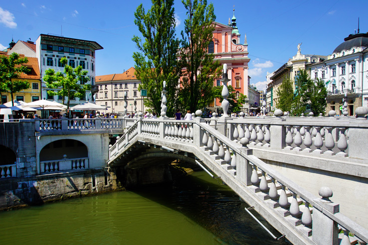 Surviving Europe: 48 Hours Discovering the Best of Ljubljana and Lake Bled - Three Bridges