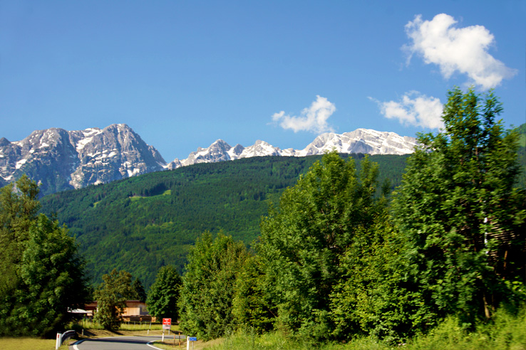 Surviving Europe: 48 Hours Discovering the Best of Ljubljana and Lake Bled - Driving in Austria