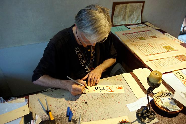 Surviving Europe: 48 Hours Discovering the Best of Ljubljana and Lake Bled - Ljubljana Castle Chaple Calligrapher