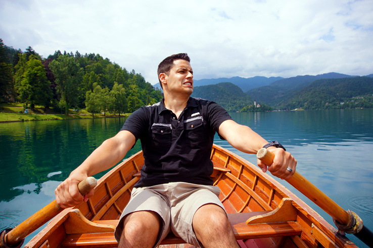 Surviving Europe: 48 Hours Discovering the Best of Ljubljana and Lake Bled - Bled Island Rowing