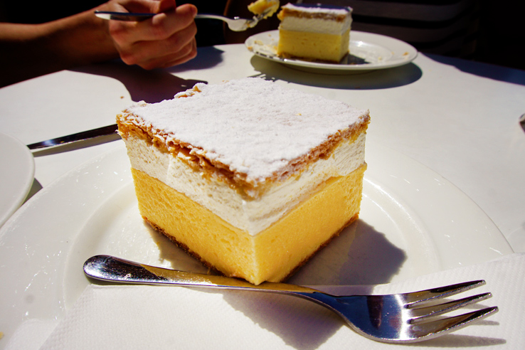 Surviving Europe: 48 Hours Discovering the Best of Ljubljana and Lake Bled - Bled Cake