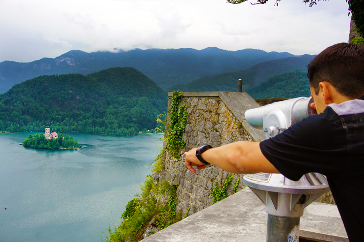 Surviving Europe: 48 Hours Discovering the Best of Ljubljana and Lake Bled - Bled Castle View