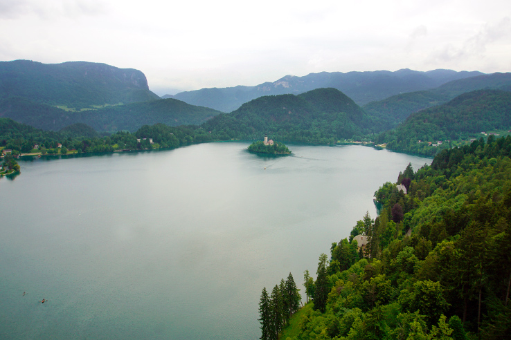 Surviving Europe: 48 Hours Discovering the Best of Ljubljana and Lake Bled - Bled Castle Views