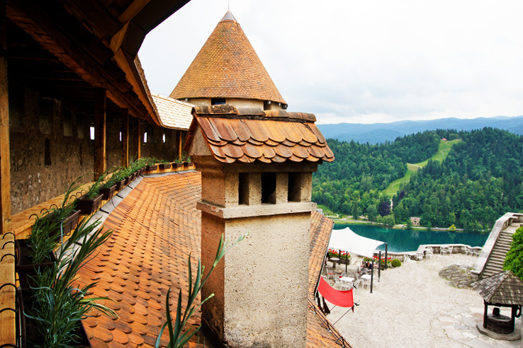 Surviving Europe: 48 Hours Discovering the Best of Ljubljana and Lake Bled - Bled Castle Walls