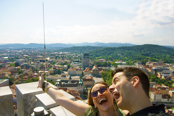 Surviving Europe: 48 Hours Discovering the Best of Ljubljana and Lake Bled - Top of Ljubljana Castle