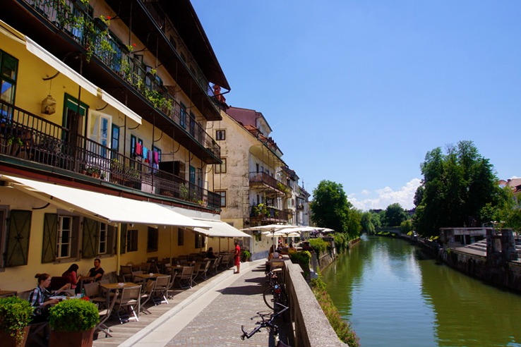 Surviving Europe: 48 Hours Discovering the Best of Ljubljana and Lake Bled - Ljubljanica River